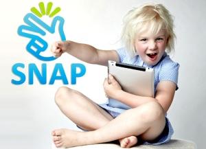Girl Holding iPad