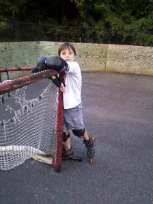 Boy on Inline Skates
